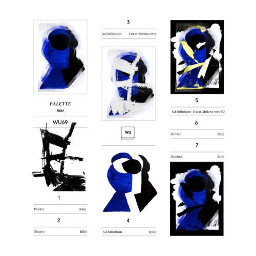 Ribe — Palette EP (2021)