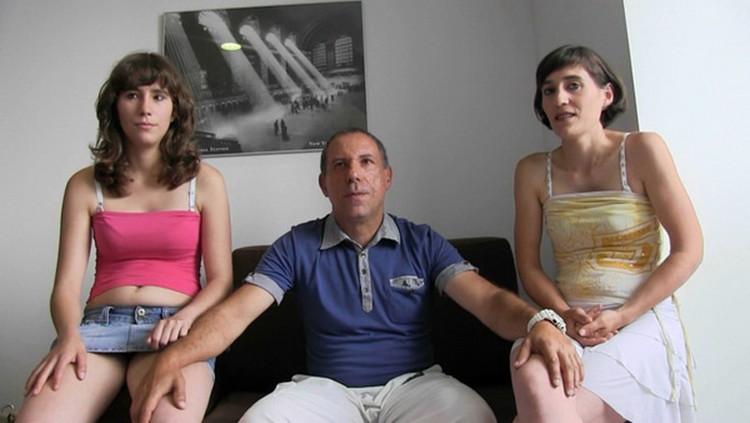 Fakings - Unknown - Padre e hija REALES se lo montan codo con codo con la madrastra (720p/HD)