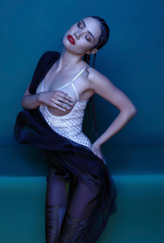 рекламная кампания нижнего белья модного бренда Keosme / фото 03