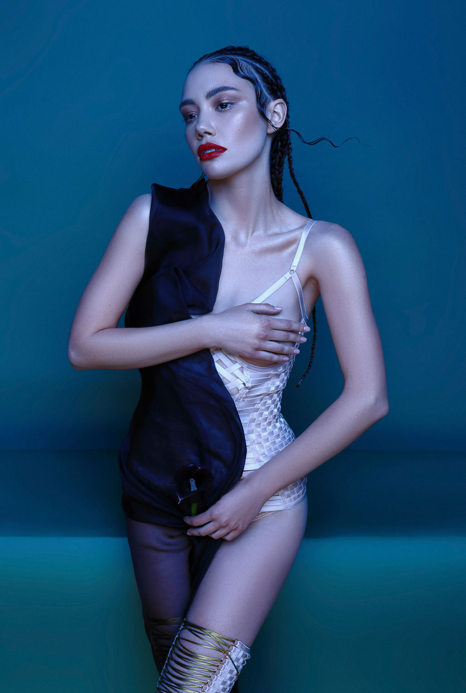 рекламная кампания нижнего белья модного бренда Keosme / фото 08