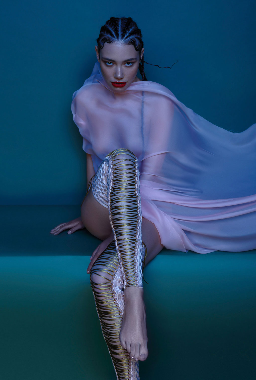 рекламная кампания нижнего белья модного бренда Keosme / фото 09