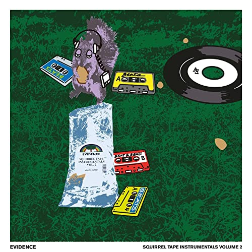 Evidence — Squirrel Tape Instrumentals, Vol. 2 (2021)