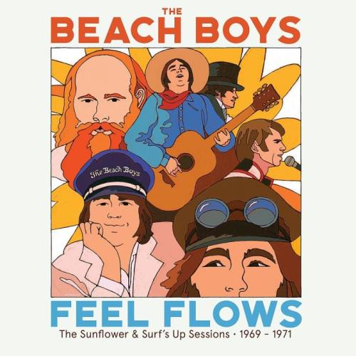 """The Beach Boys — """"Feel Flows"""" The Sunflower & Surf's Up Sessions 1969-1971 (Super Deluxe) (2021)"""