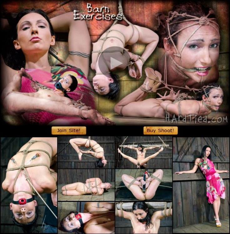 Wenona ~ Barn Exercises ~ HardTied ~ HD 720p