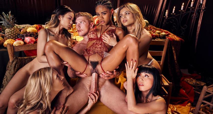 Deeper.com, Tushy.com - Destiny Cruz, Lulu Chu, Marica Hase, Mona Wales, Scarlit Scandal