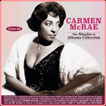 Carmen Mcrae - The Singles & Albums Collection 1946-58 (2021) Mp3 320kbps