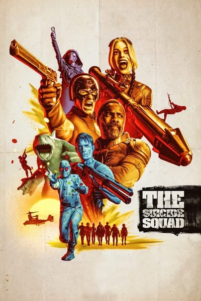 The Suicide Squad 2021 2160p HMAX WEB-DL DDP5 1 Atmos HDR HEVC-EVO