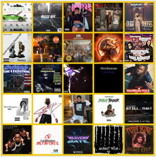 Rap Music Collection Pack 243 (2021)