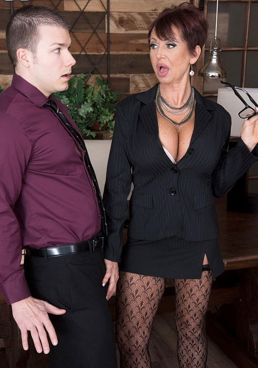 Gina Milano - Gina gives new meaning to, Fuck The Boss! [FullHD 1080p] 2021