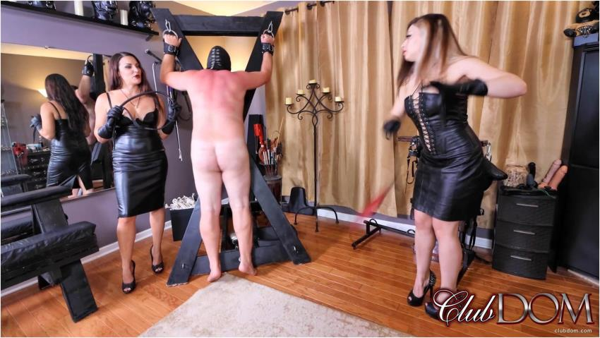 ClubDom ~ Whipping with Isobel and Michelle ~ ClubDom ~ FullHD 1080p