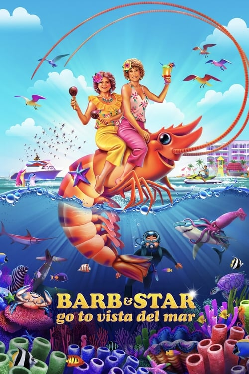 Barb and Star Go to Vista Del Mar 2021 HDRip XviD AC3-EVO