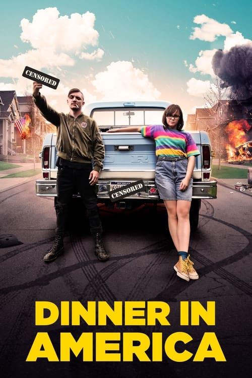 Dinner in America 2021 1080p BRRip DD5 1 X 264-EVO