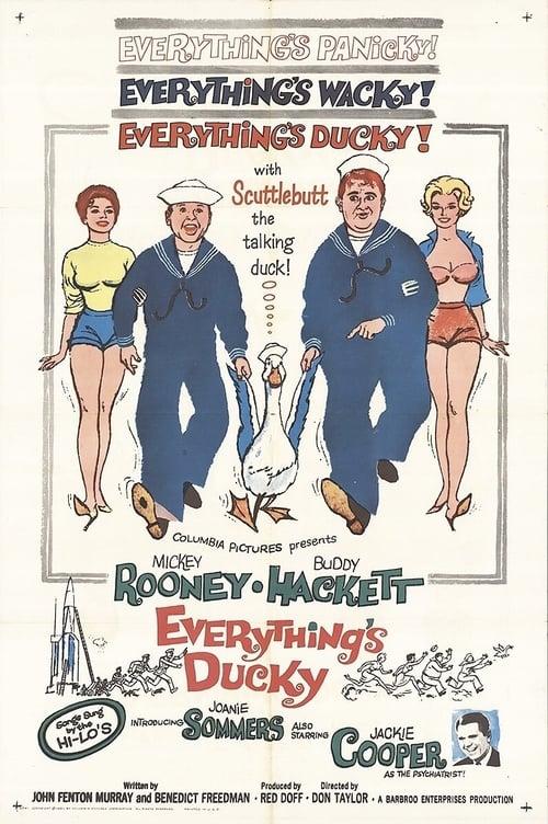 Everything's Ducky 1961 DVDRip x264