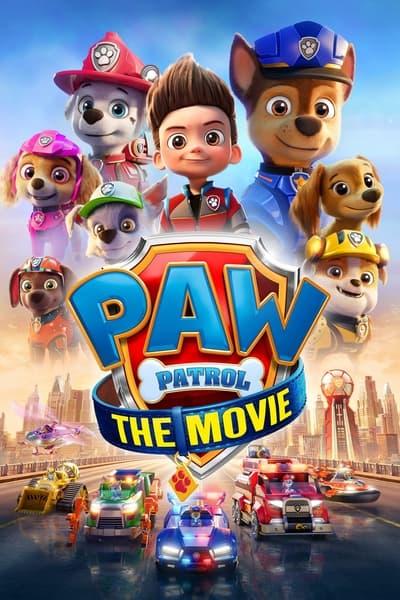 PAW Patrol The Movie 2021 720p AMZN WEBRip 800MB x264-GalaxyRG
