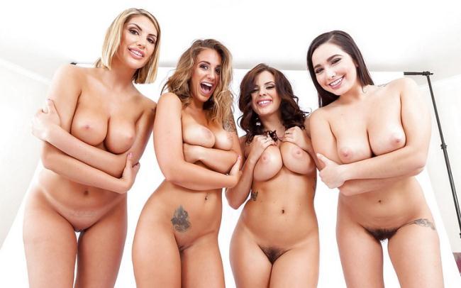 NaughtyAmerica.com - August Ames, Karlee Grey, Keisha Grey, Layla London