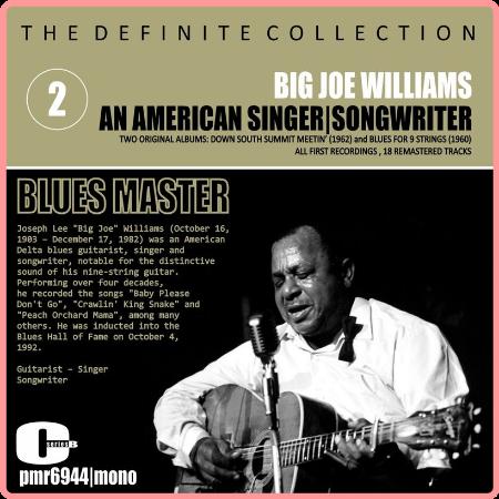 Big Joe Williams - An American Singer, Songwriter, Blues Master, Vol  2 (2021) Mp3 320kbps
